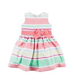 Carter's® Baby Girls' 2-Piece Dress And Bottom Set
