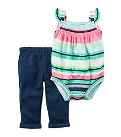 Carter's® Baby Girls' 2 Pc Bodysuit And Pants