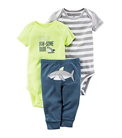 Carter's® Baby Boys 3-Piece Shark Set