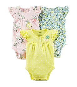 Carter's® Baby Girls' 3pk Bodysuits