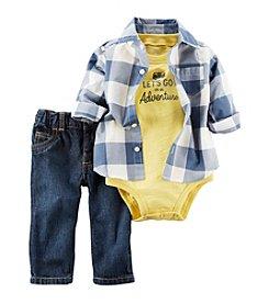 Carter's® Baby Boys' 3-Piece Woven Shirt Set