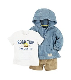 Carter's® Baby Boys 3pc Cardigan Set