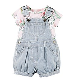 Carter's® Baby Girls' 2pc Overall Set