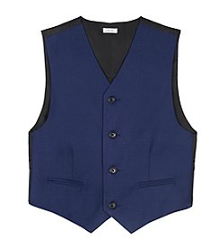 Calvin Klein Boys' 8-20 Fine Line Vest