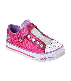 Skechers® Girls' Shuffles Sparkly Jewels Shoes