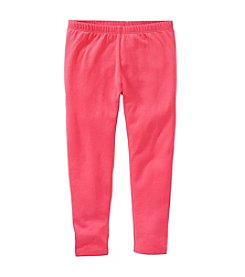 OshKosh B'Gosh® Girls' 2T-8 Solid Leggings