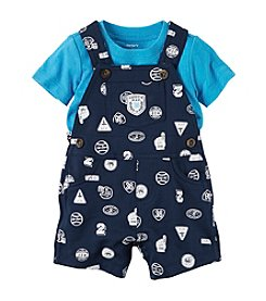 Carter's® Baby Boys' 2-Piece Set Overall And Top