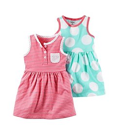 Carter's® Baby Girls' 3-Piece Set Dress and Bottoms