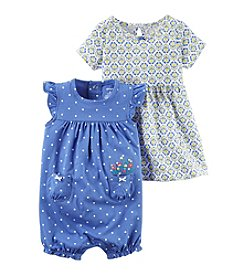 Carter's® Baby Girls' 3pc Set Dress and Bottoms