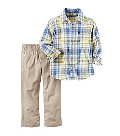 Carter's® Baby Boys' 2-Piece Shirt and Pants Set