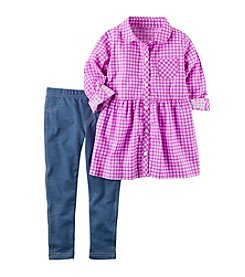 Carter's® Baby Girls' 2-Piece Shirt And Pant Set