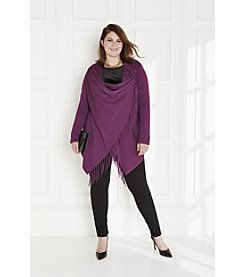 Poncho:  Plus Size Night Out