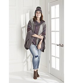 Poncho:  Plus Size Outdoor Style