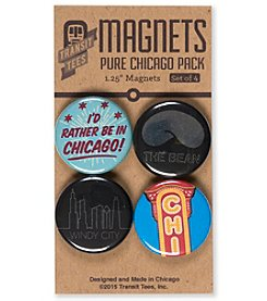 Transit Tees Pure Chicago Magnet Pack
