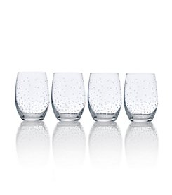 Mikasa® Set of 4 Stemless Wine Glasses