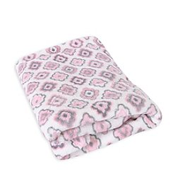 Stephan Baby® Coral Fleece Diamond Blanket