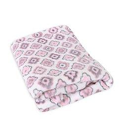 Stephan Baby® Coral Fleece Diamond Blanket