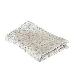 Stephan Baby® Blue Birdie Swaddle Blanket