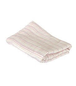 Stephan Baby® Pink Dots Swaddle Blanket