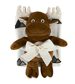 Stephan Baby® Moose Toy & Blanket Set