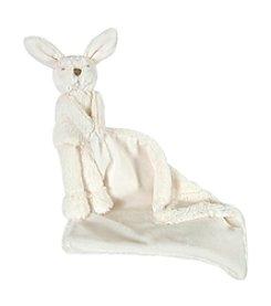 Stephan Baby® Cream Little Bunnie Lovie Set