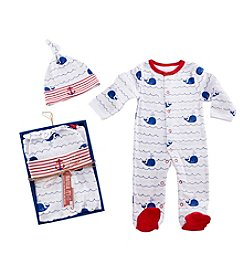Baby Aspen Nautical Pajama Gift Set