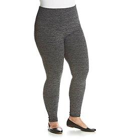 One 5 One® Plus Size Spacedye Leggings