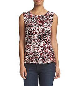 Calvin Klein Pleated Dot Cami