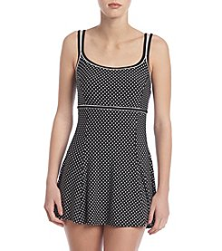 Studio Works® Piping Dot Dress One Piece