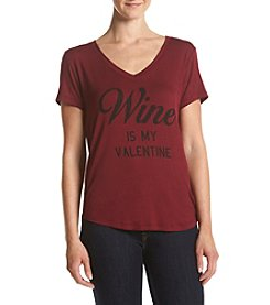 Eyeshadow® Wine Is My Valentine Tee