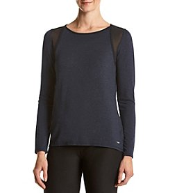Calvin Klein Performance Pullover With Mesh Inserts