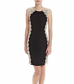 Xscape Lace Side Dress
