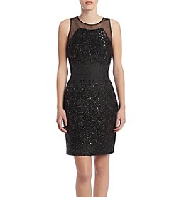 Vera Wang® Sequin Dress