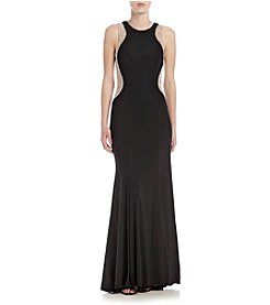 Xscape Beaded Long Dress