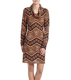 Madison Leigh® Chevron Scarf Dress