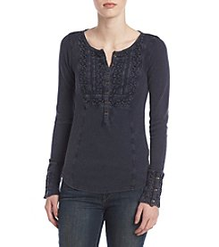 Lucky Brand® Bib Thermal Henley