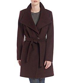 Ivanka Trump® Belted Funnel Neck Coat