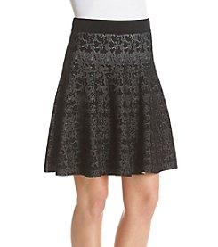 Ivanka Trump® Floral Jaquard Skirt