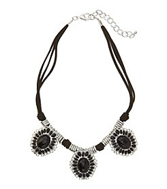Studio Works® Three Row Corded Necklace