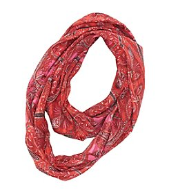 Collection 18 Classic Paisley Loop Scarf
