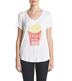 Eyeshadow® Fries Before Guys Tee