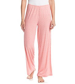 HUE® Flower Dot Sleep Pants