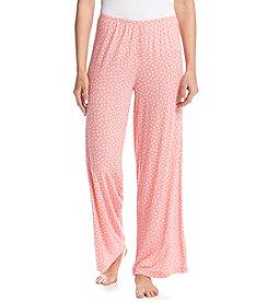 HUE® Flower Dot Sleep Pants