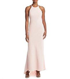 Calvin Klein Long Crepe Gown