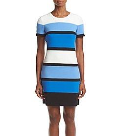 Tommy Hilfiger® Striped Scuba Dress