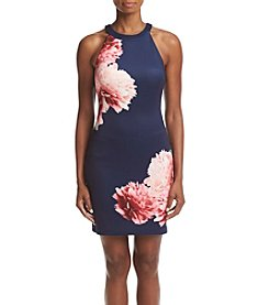 GUESS Floral Sheath Dress