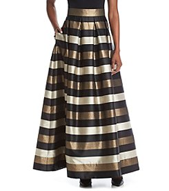 Eliza J® Fit And Flare Ball Skirt
