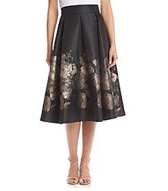 Eliza J® Pleated Midi Skirt