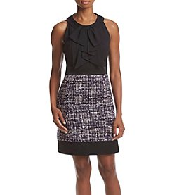 Anne Klein® Bow Front Sheath Dress