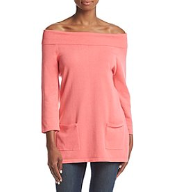 Jeanne Pierre® Marylin Neck Sweater